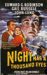 Night Has a Thousand Eyes 1948 DVD - Edward G. Robinson / Gail Russell